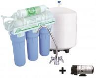 Система обратного осмоса ABSOLUTE 6-50MP с минерализатором и помпой